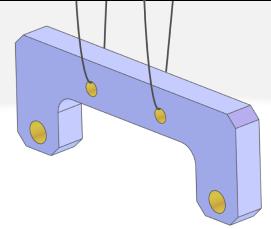 表面処理用の吊り穴
