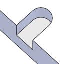 幅=2Rの非貫通切欠き形状